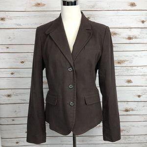 Vineyard Vines Brown Cotton Jacket Blazer